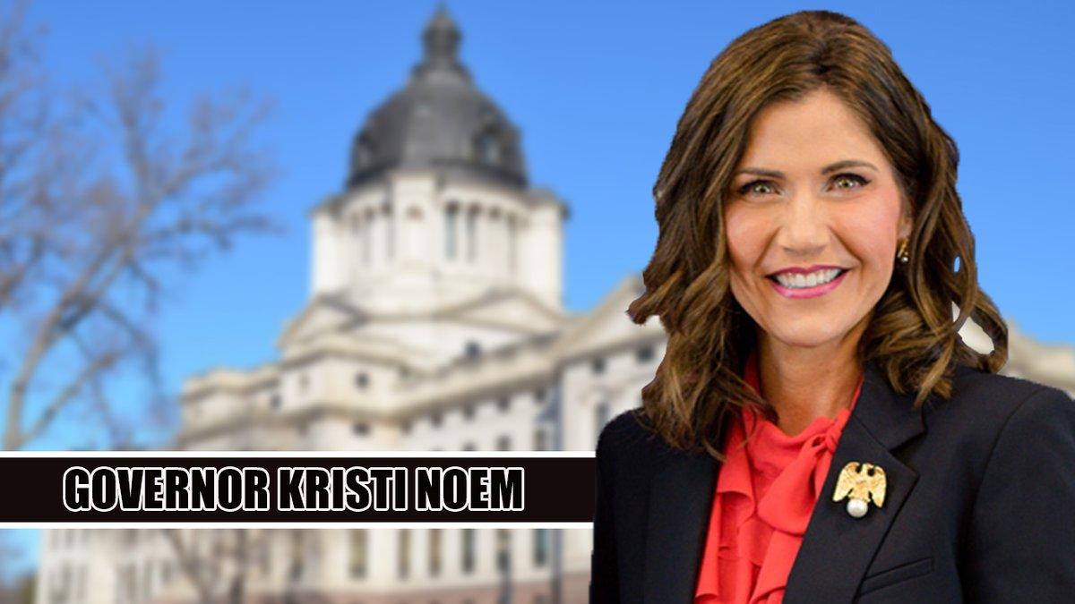 South Dakota Gov. Kristi Noem. (KOTA TV)