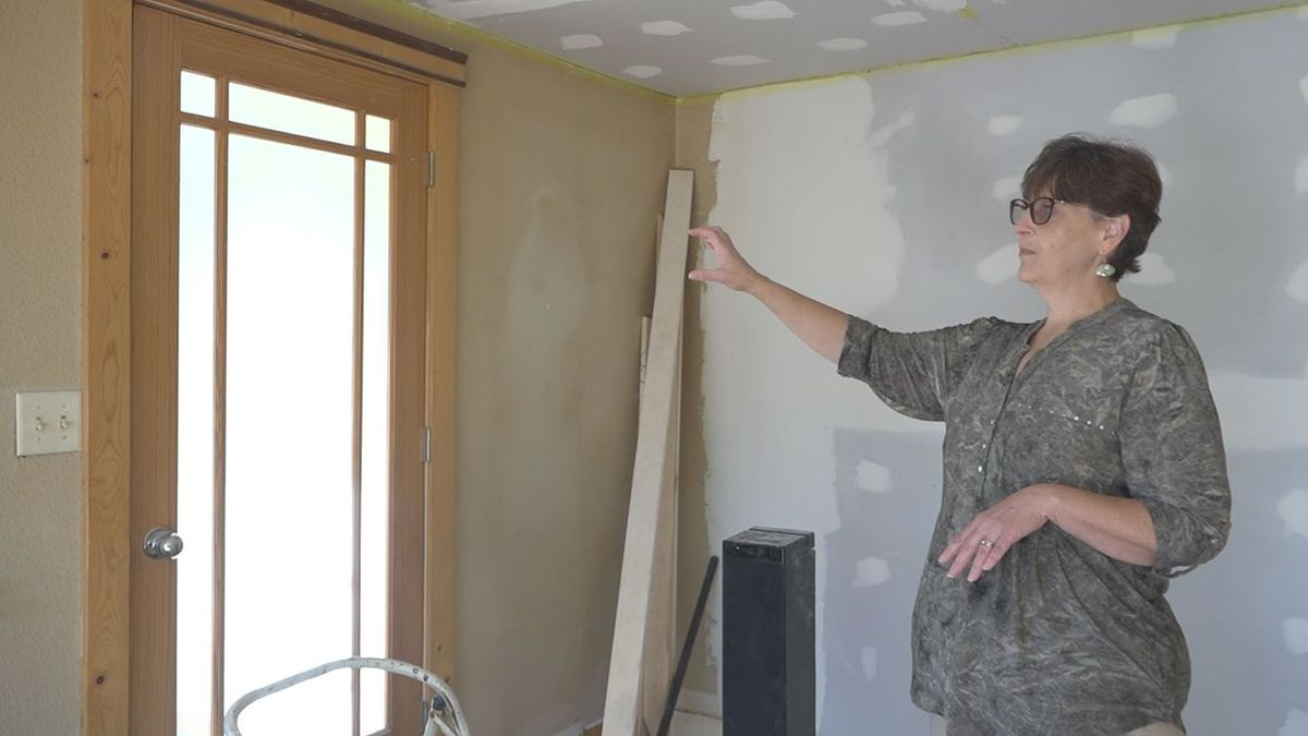 Marcy Jones flips houses in Rapid City to provide affordable homes to low-income families....