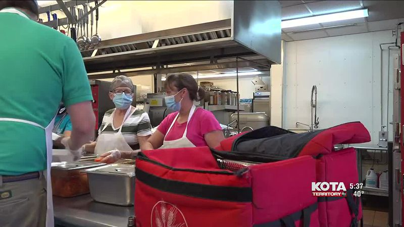 Meals on Wheels feed around 900 people