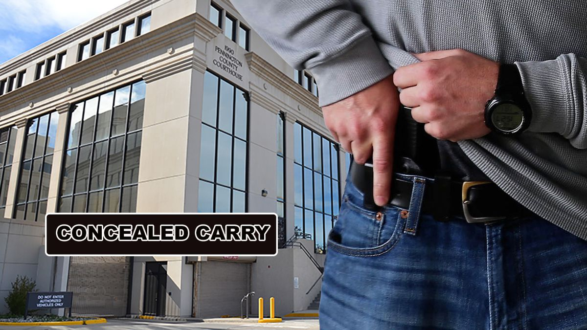 A bill filed in the South Dakota Senate would allow county courthouse workers to carry firearms. (KOTA TV)