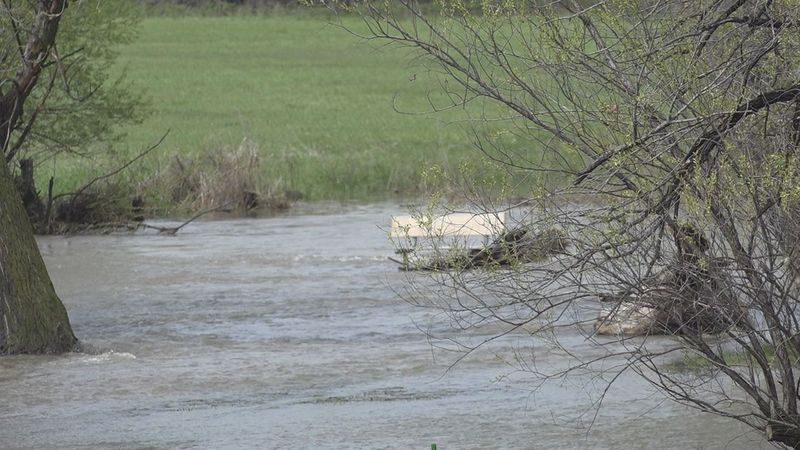 A dead body was found near Rapid Creek on Thursday morning.