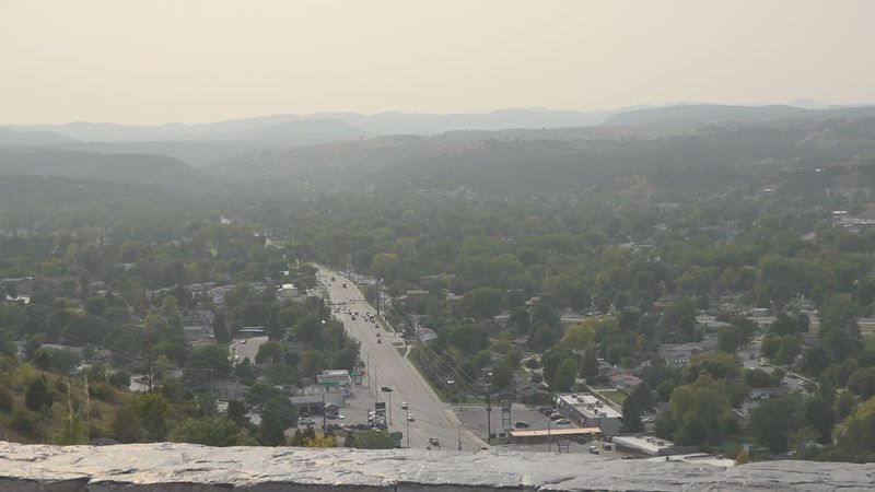 """Rapid City air quality index listed as """"good"""" on Wednesday."""
