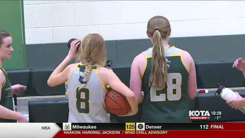 The Hill City Rangers girls basketball team beat the Lakota Tech Tatanka 53 to 46. We take a...
