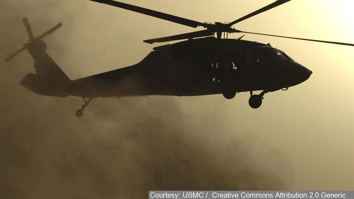 UH 60 Blackhawk - Cropped Photo: Courtesy: USMC / Creative Commons Attribution 2.0 Generic