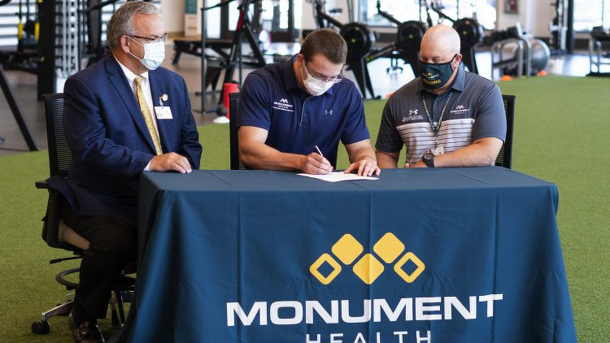 Monument Health Orthopedics and Sports Medicine signed a sponsorship agreement with a professional athlete. Martin Christofferson is a Rapid City, S.D., native and bobsledder on Team USA.