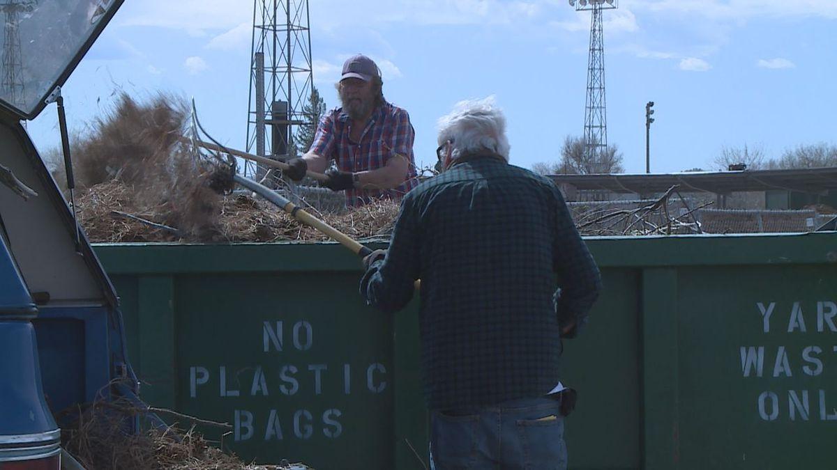 yard waste drop-off