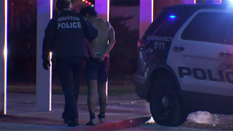 A man was arrested at the site of a suspected human smuggling operation in Houston on Thursday....