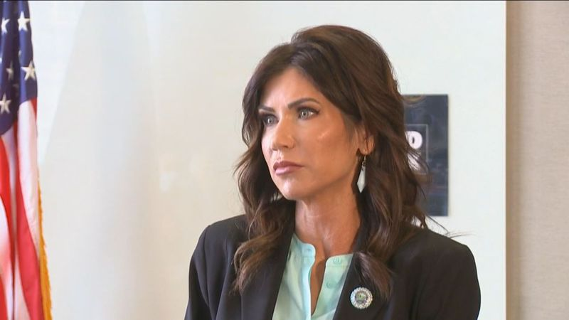 Governor Kristi Noem is receiving national attention for her decision to backtrack on H.B....