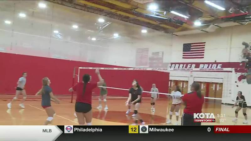 9-6 central volleyball