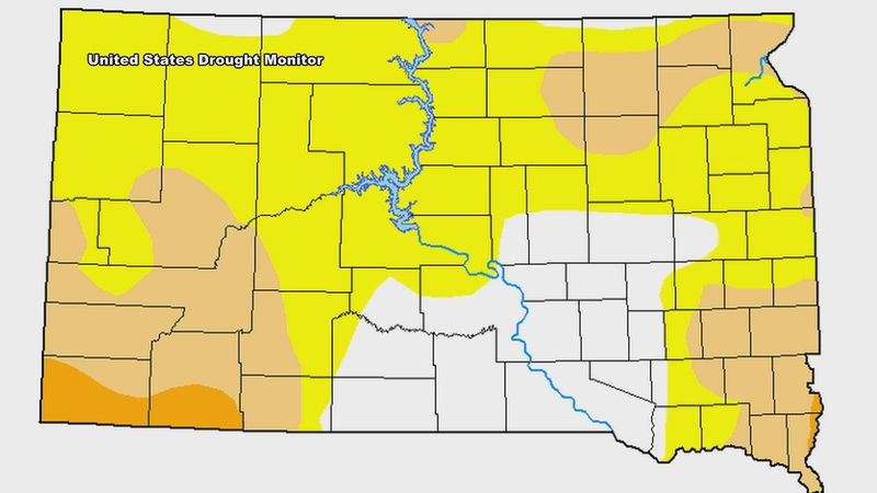 Western S.D. sees drought conditions