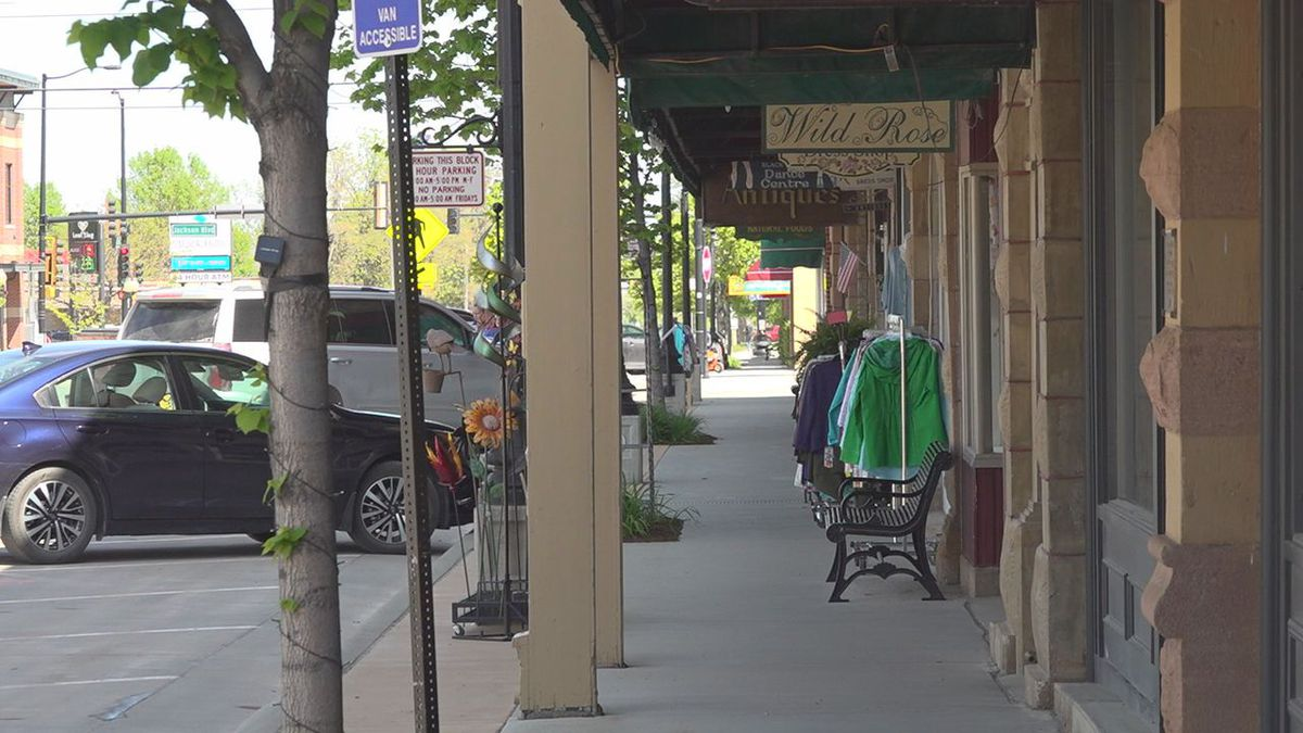 Downtown Friday Nights takes place on Main Street in Spearfish, S.D.