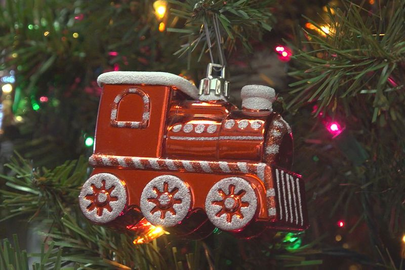 For over a decade the South Dakota State Railroad Museum has decorated its railroad memorabilia...