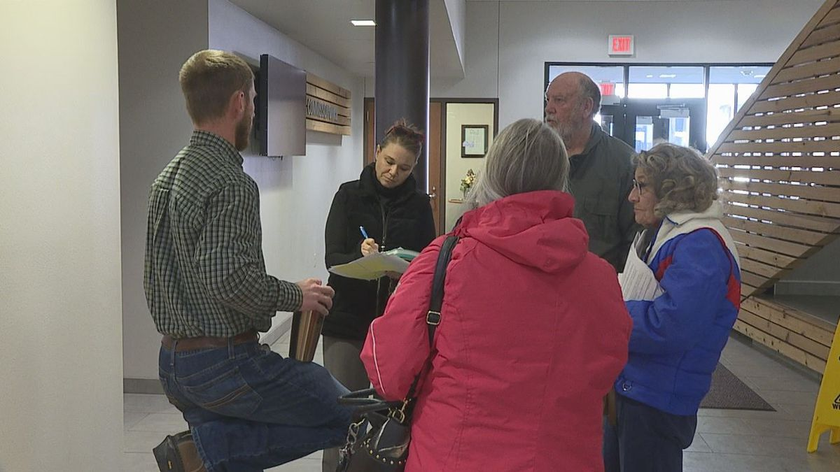 Tammy Burke and her neighbors request the Pennington County Board of Commissioners add Pennington Street to the county road system.