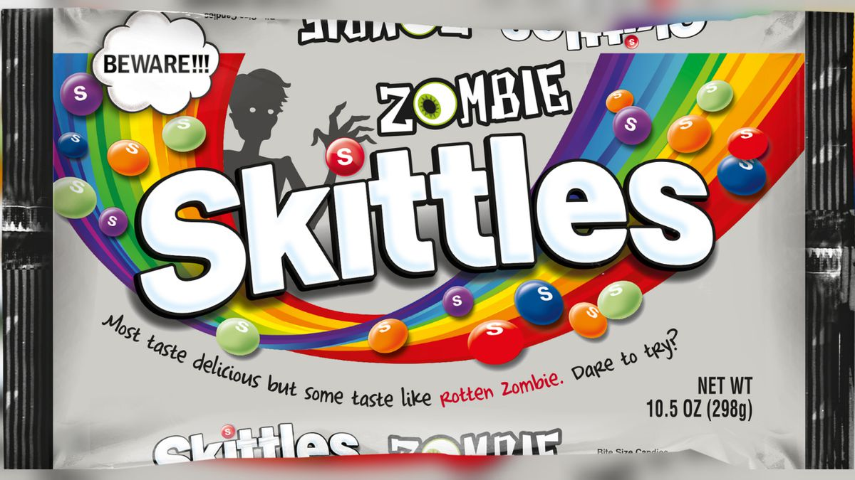 This Halloween, MARS will launch Zombie Skittles in the U.S.