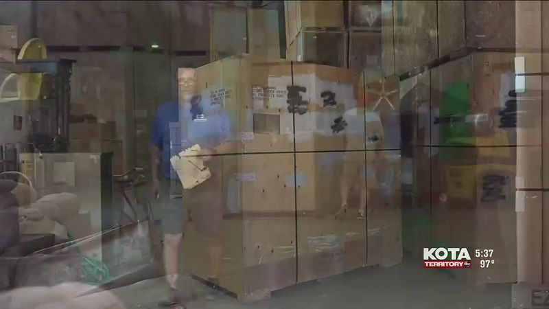 Green's Moving & Storage is backed up and booked up, storing people's things for months rather...