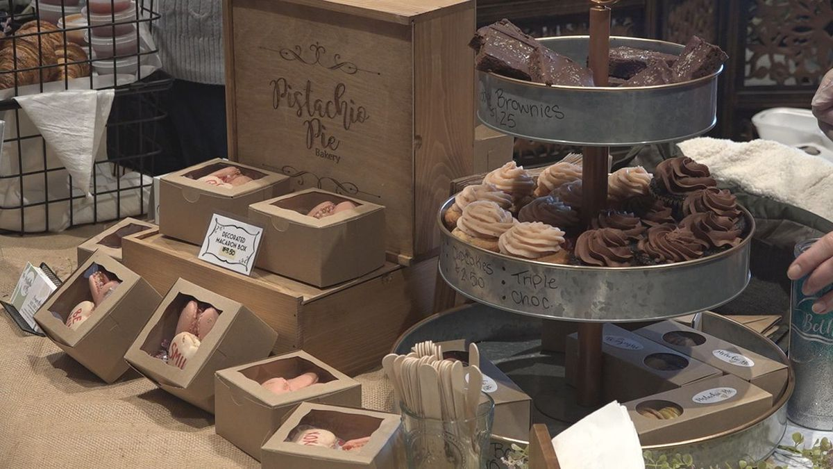 The smell of chocolate filled the room at the seventh annual Chocopalooza. (KOTA)