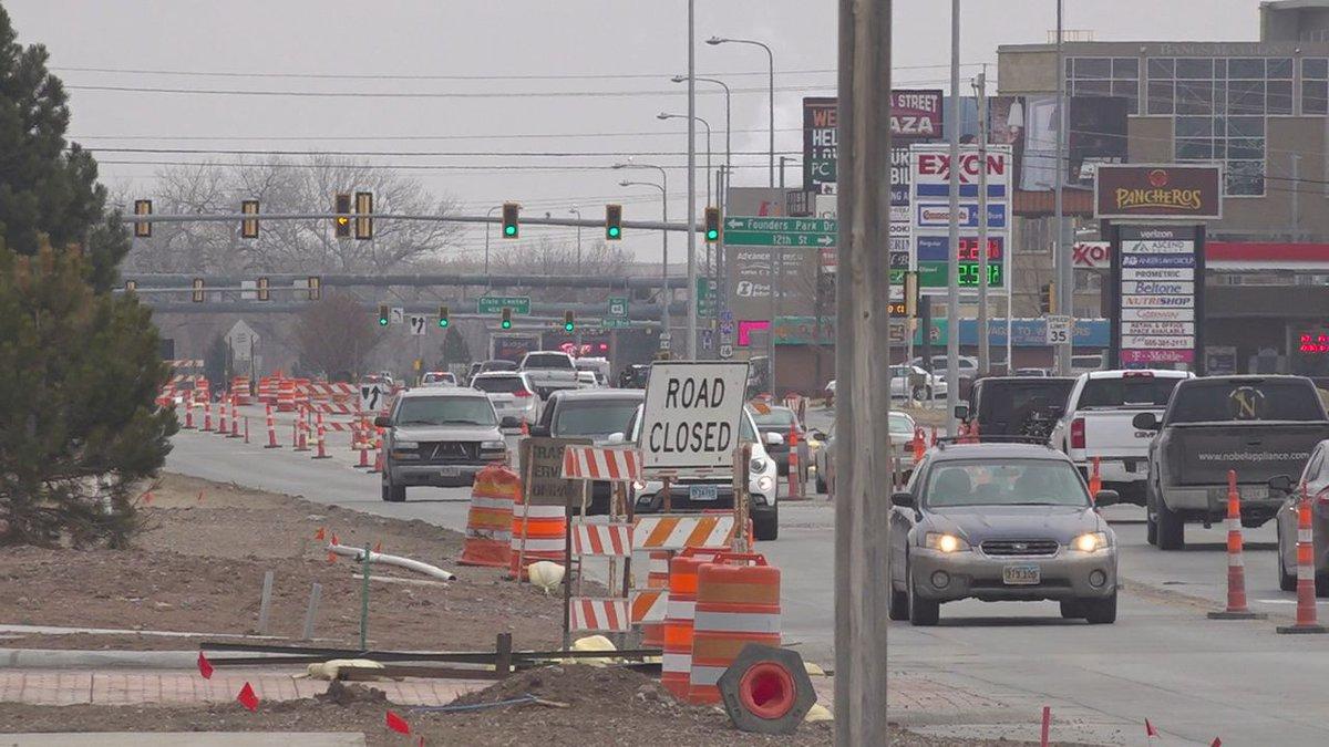 Omaha Street construction.
