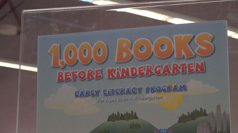1,000 books before kindergarten.