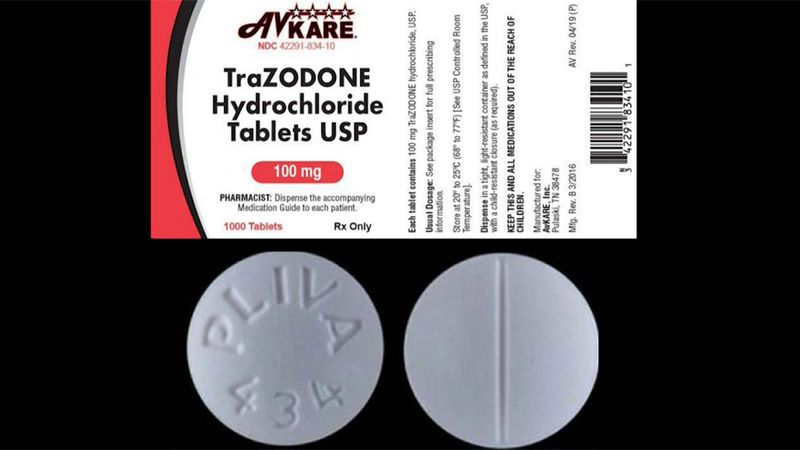 """The company said sildenafil and trazodone tablets were """"inadvertently packaged together"""" when..."""
