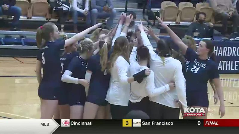 The Mines Hardrockers made the RMAC Postseason Volleyball Tournament for the first time ever,...