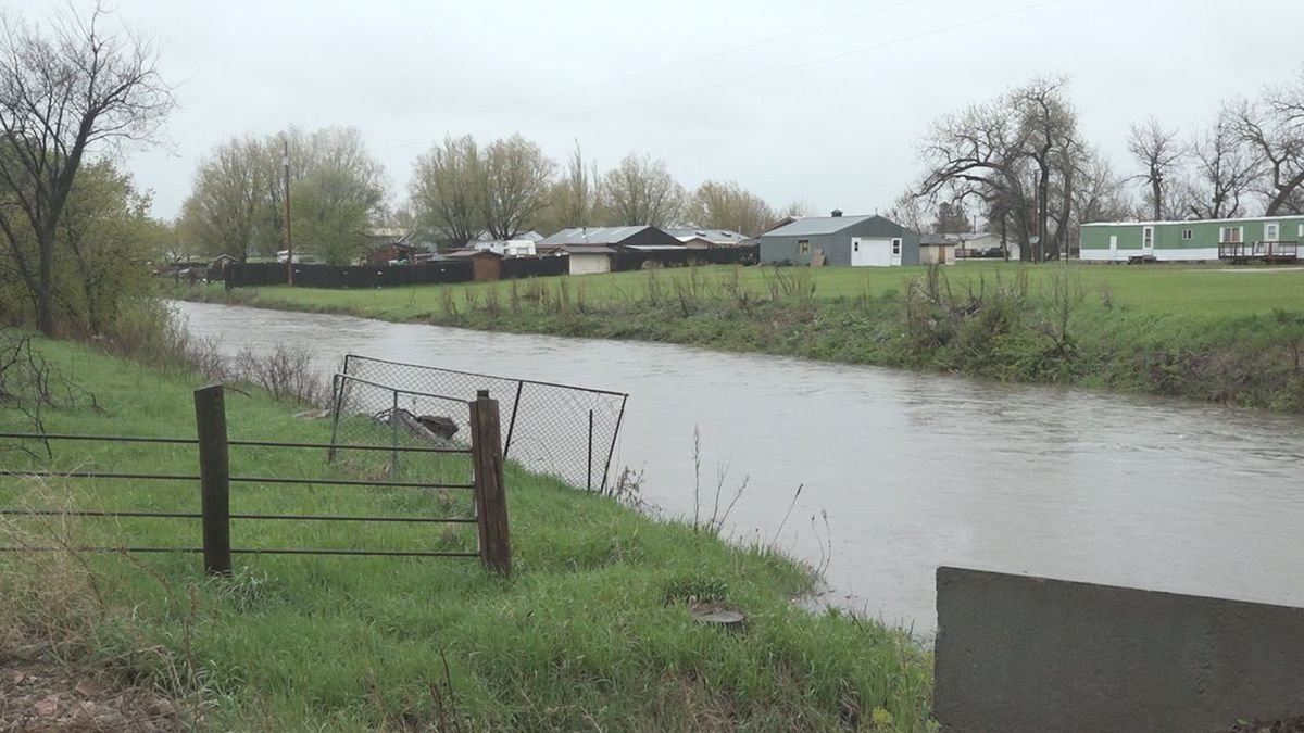 Several houses in Green Valley are next to Rapid Creek. (KOTA TV)
