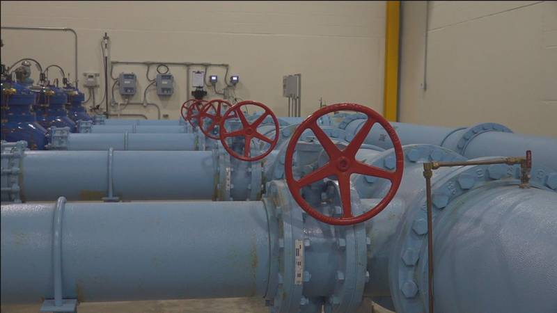 Inside Rapid City's water treatment plant.
