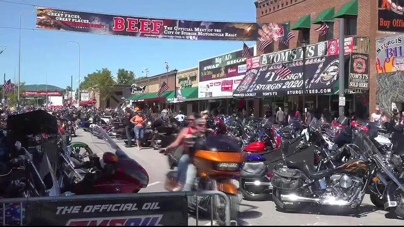 Sturgis refutes motorcycle rally was superspreader event