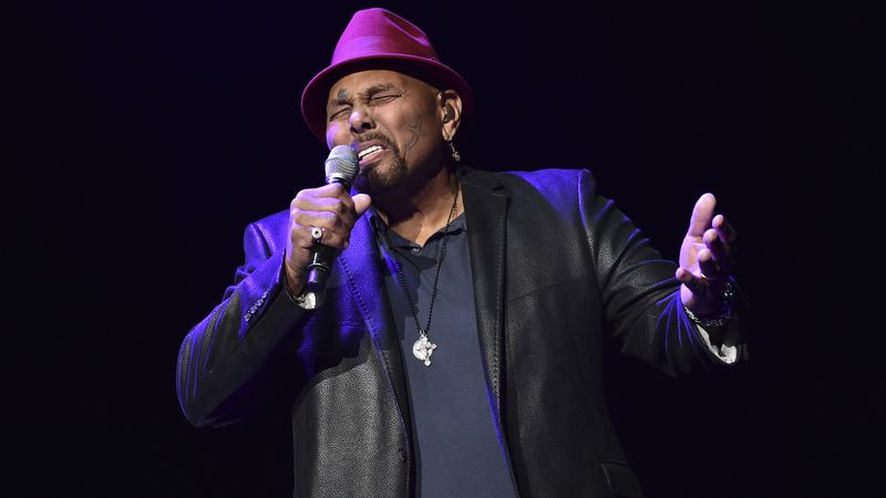 In this Saturday, Jan. 6, 2018 file photo, Singer Aaron Neville performs during A Concert For...
