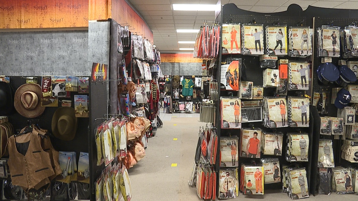 From spooky accessories to scary makeup, Spirit Halloween at Rushmore Mall has costumes for all...