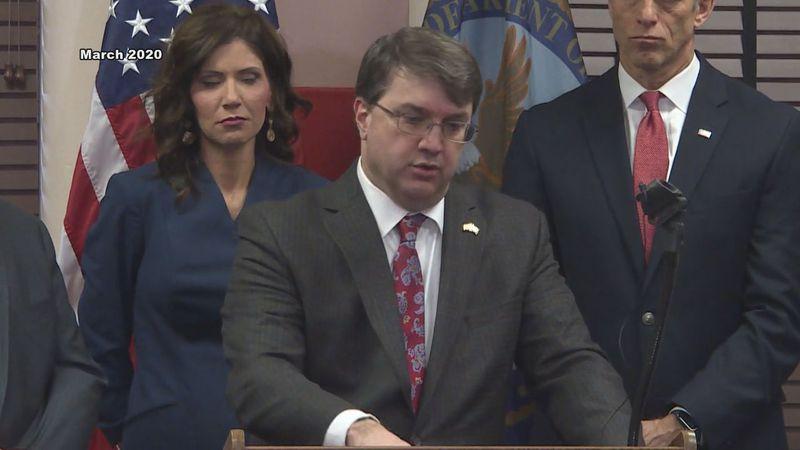 Secretary of the Department of Veterans Affairs Robert Wilke visited the Hot Springs VA in...