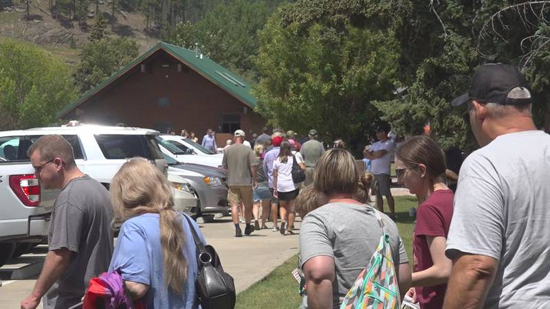Tourism is spiking more than normal in the Black Hills, and if you're interested in visiting...