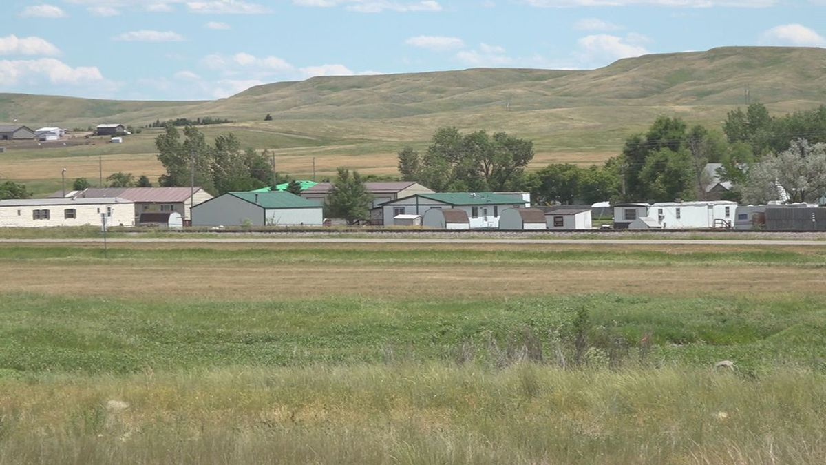 Proposed location for a cement plant in Box Elder, S.D.