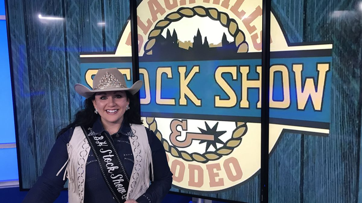 The reigning Miss Black Hills Stock Show Queen joined us in the studio to talk about her journey. (KOTA TV)