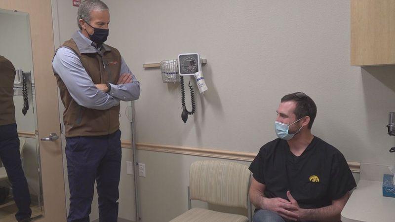 Senator Thune praised the South Dakota Department of Health, and healthcare providers in the...