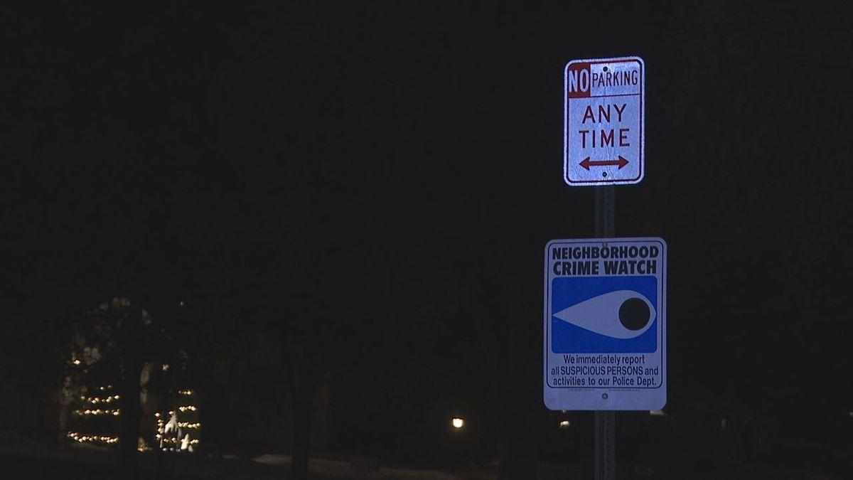 Neighborhood Watch sign in Rapid City.