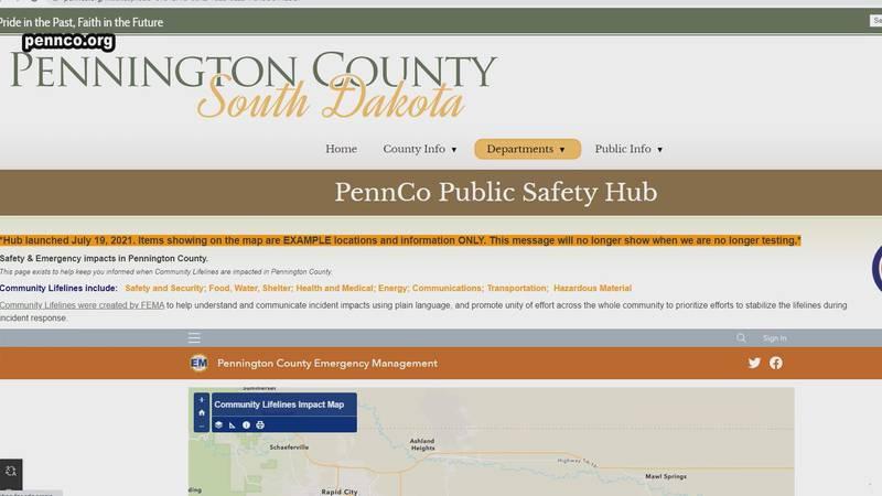 safety hub for Pennington County