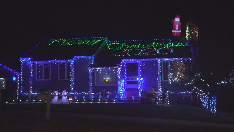 The Tour de Lights began six years ago and has a map including dozens of local homes with...
