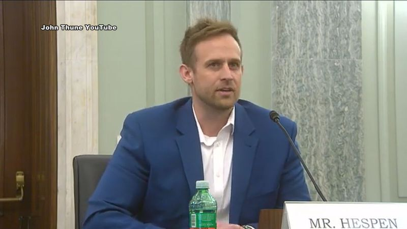 Ray Hespen of Property Meld speaks before the Subcommittee on Communications, Technology,...