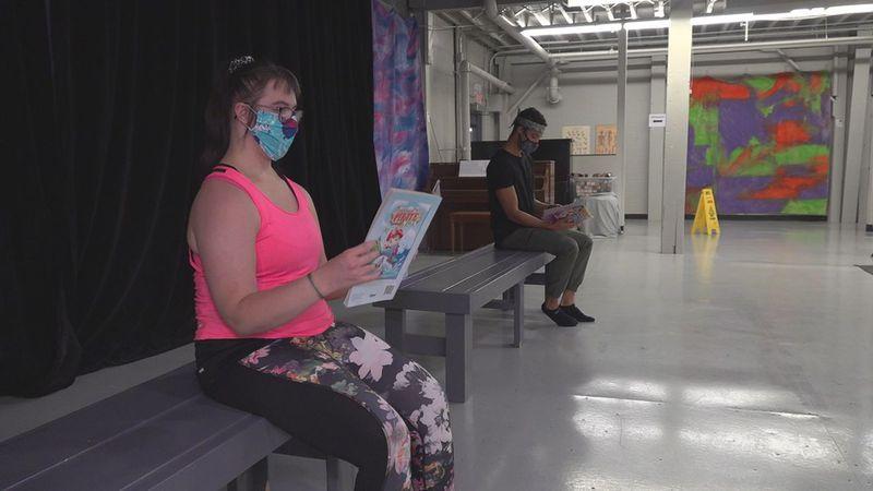 Stevens grad comes back to work with dancer in Flutter Productions