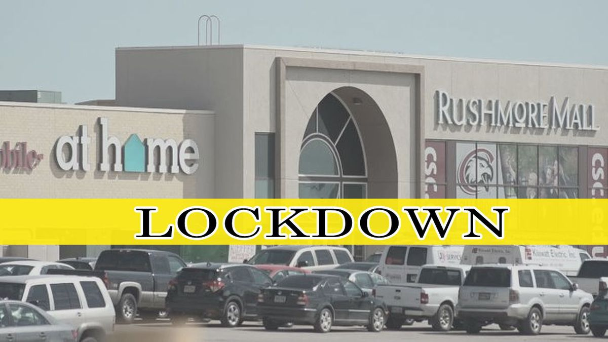 The mall goes on lockdown after reports of an active shooter.