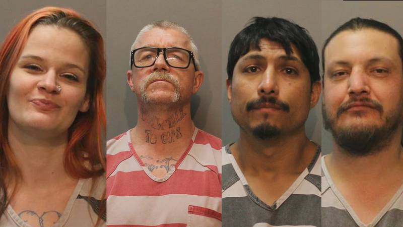 They are all charged with aiding and abetting 1st-degree-murder in the shooting death of Jesus...