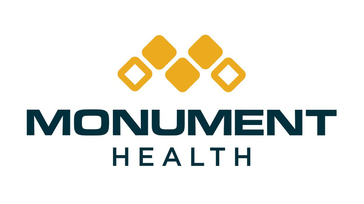 This is the new logo for Regional Health, which is being re-branded as Monument Health....
