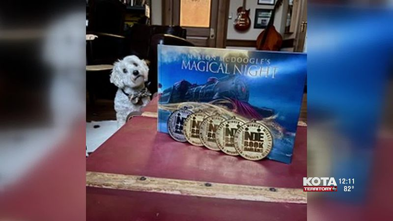 One of Covel's latest books, Marlon McDoogle's Magical Night with the main character based off...