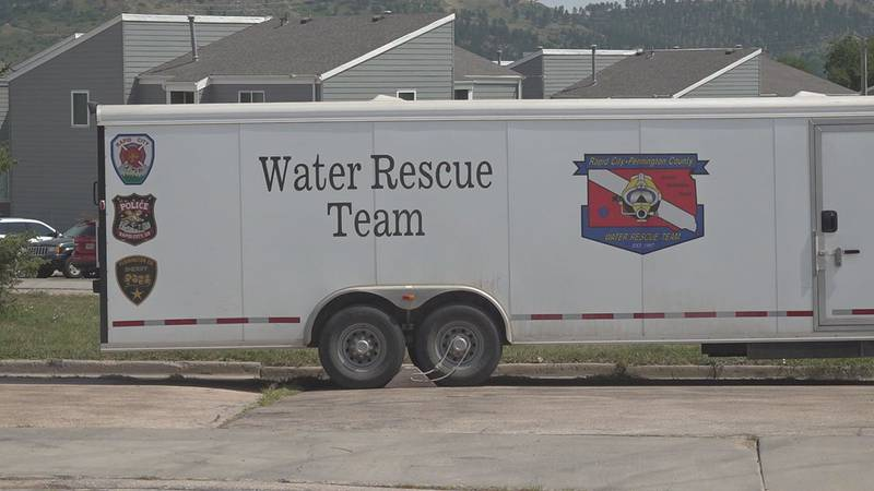 The Water Rescue team had help from other agencies in the area to assist in the recovery.