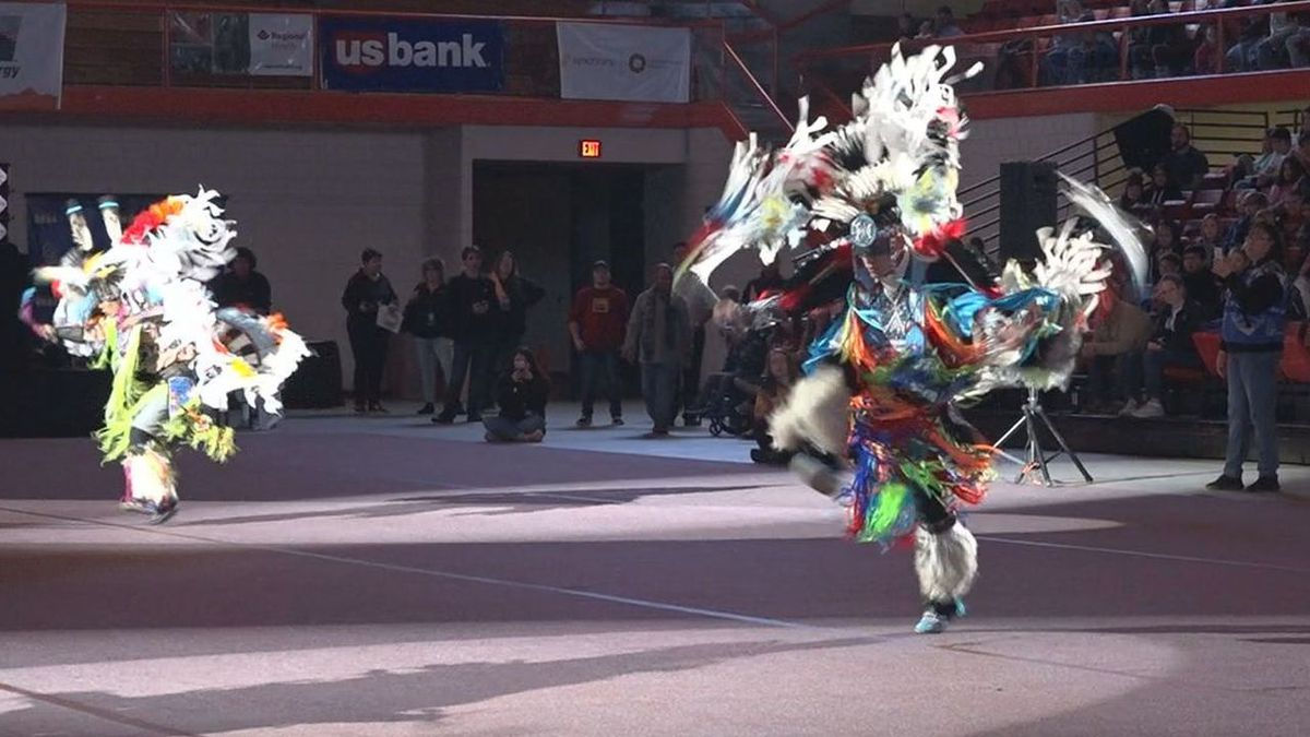 Native Americans dance at the 33rd Annual Black Hills Pow Wow. (KOTA TV)