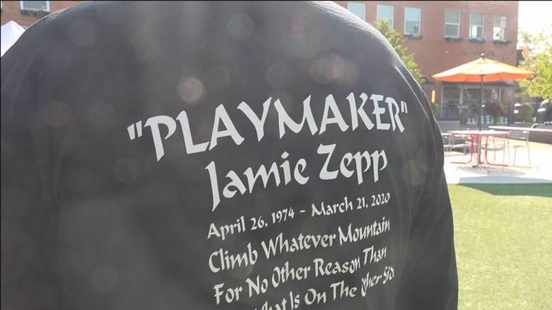 Jamie Zepp honored at Rapid City Heart Walk