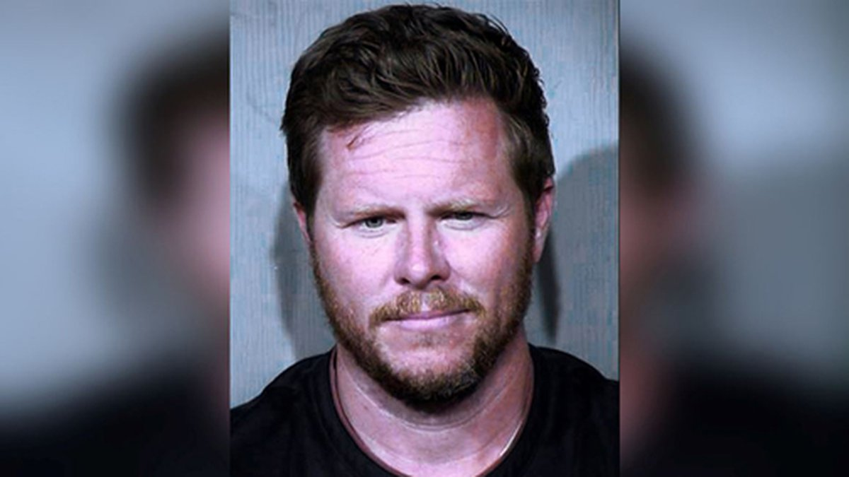 This undated booking photo provided by the Maricopa County Sheriff's Office shows County...