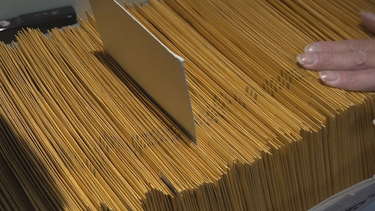 More than 35% of the state's 565,000 registered voters have requested to vote by mail for the...
