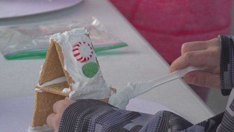 Kids got to spend the afternoon making arts and crafts in Sturgis.