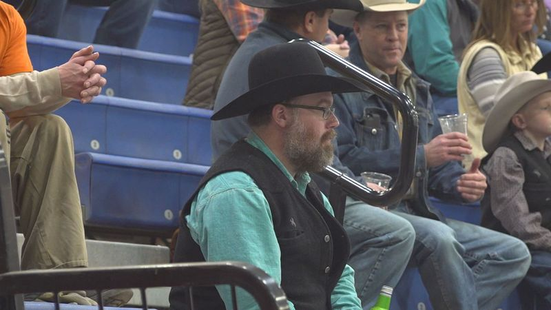 The stock show saw sold-out events and large crowds.